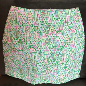 Lilly Pulitzer Callie Skirt probably size  00